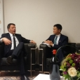 Renzi e Jack Ma per la promozione del vino italiano in Cina